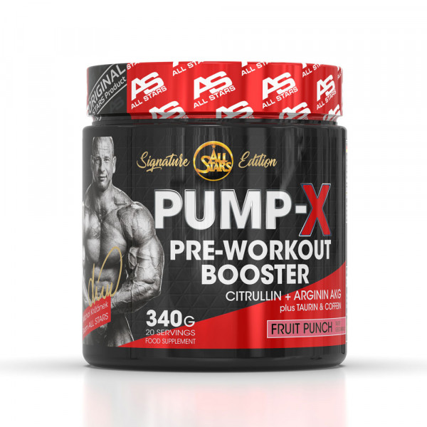 ALL STARS PUMP-X SIGNATURE EDITION BY MICHAL KRIŽÁNEK - Pre-Workout Booster