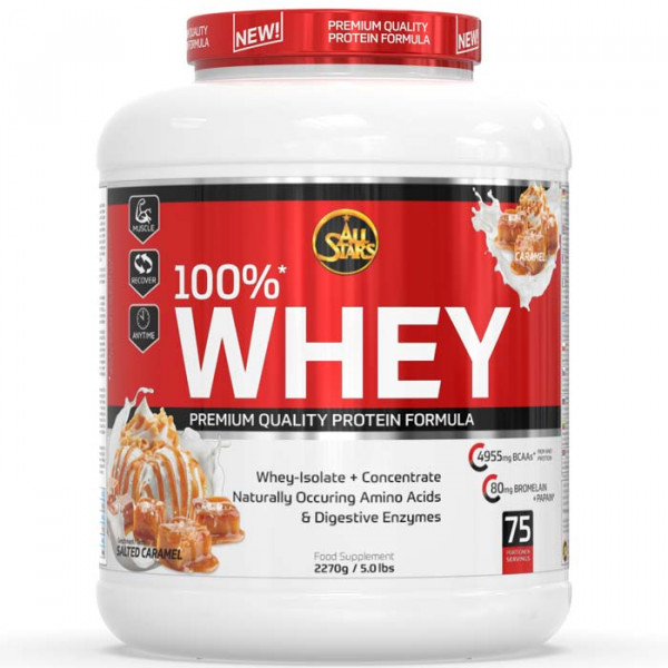 ALL STARS 100% Whey Protein - 2270g Dose