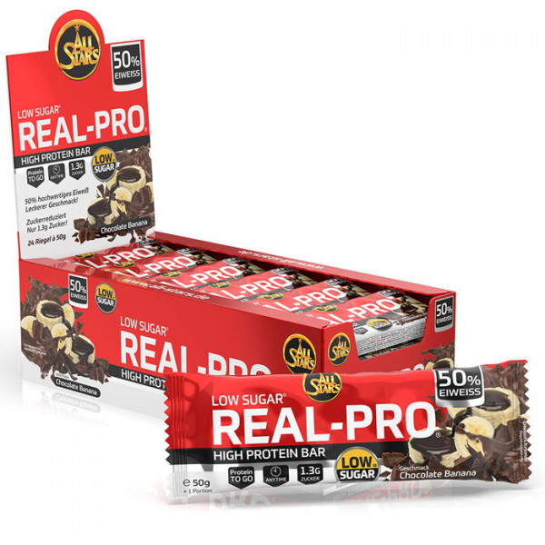 ALL STARS Real-Pro 50% Protein Bar