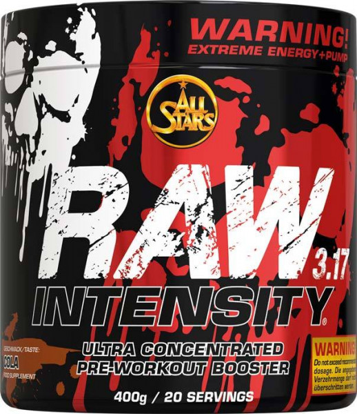 ALL STARS RAW Intensity 3.17 - Preworkout Booster